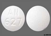 Small Round White Pill